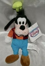 "New 1990s Disney Store Plush Beanie Soft 9"" Classic Goofy Souvenir w/Sewn Eyes - $9.90"