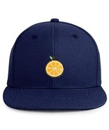 Trendy Apparel Shop Orange Patch Structured Infant Flatbill Snapback Cap... - $16.99