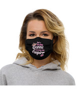 Girls boss Premium face mask Just a Bling Queen Building her Empire  - $23.00