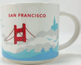 Starbucks 2012 San Francisco You Are Here Collection Coffee Mug NEW IN BOX - $24.10