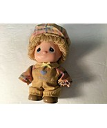 "1986 Samuel J Butcher Co Precious Moments Doll I Love Das Plastic 6"" Tall  - $13.99"