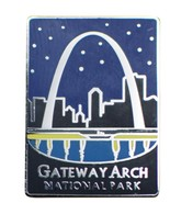 Gateway Arch National Park Pin - Official Traveler Series - St. Louis, M... - £7.14 GBP