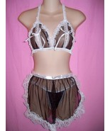 Tease Bodywear Lingerie Sexy Maid For Fun 4 Piece Set : One Size - $34.99