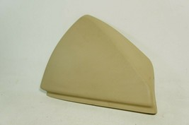 08-2013 cadillac cts sedan front left driver dash trim cover beige tan oem - $17.64