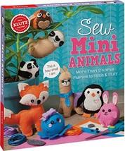 Klutz Sew Mini Animals Sewing & Craft Kit - $17.87