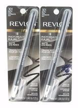 Revlon Photoready Kajal Matte Eye Pencil *choose your shade*Twin Pack* - $10.49