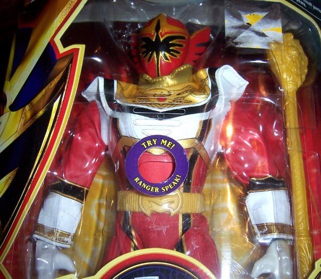 Power Rangers Mystic Force Red Legend Mega Talking Power Ranger Poster NEW