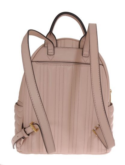 f15cc7ca56512d Michael Kors Beige Abby Leather Backpack and 50 similar items