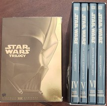 Star Wars Trilogy VI, V VI + Bonus Material DVD Box Set - $13.95