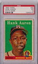 1958 Topps Hank Aaron #30 White Name PSA 5 P634 - $163.43