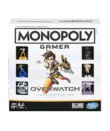 NEW SEALED Monopoly Gamer Overwatch Board Game Hasbro Blizzard - $32.43