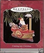 Hallmark Cruising Into Christmas Ornament 1998 - $9.89