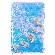 MHJY Sequin Notebook Magic Reversible Sequin Journal for Girls Color Cha... - $12.57
