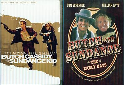 BUTCH CASSIDY & SUNDANCE KID 1&2: Original Collectors Ed + Early Days  NEW 3 DVD