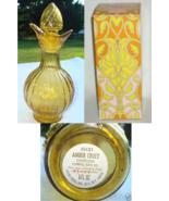 Avon Amber Cruet Charisma Foaming Bath Oil Decanter - $6.00