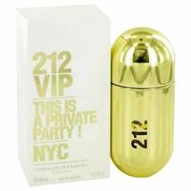 Perfume 212 Vip by Carolina Herrera Eau De Parfum Spray 1.7 oz for Women - $54.74