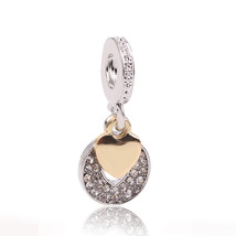 Couqcy New Arrival Silver Color LOVE Dangle Beads Fit Original Pandora C... - $3.24