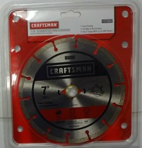"Craftsman 37662 7"" Segmented Rim Diamond Saw Blade - $18.81"
