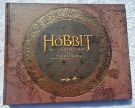 Hobbit An Unexpected Journey Chronicles Art & Design Hardcover HC NEW Un... - $45.00