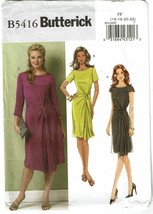 BUTTERICK PATTERN 5416 MISSES DRESS SIZE FF (16-22) - $5.00