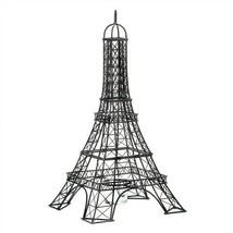 Eiffel Tower Black Metal Candle Holder - $31.60
