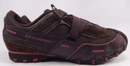 Skechers Propel Leather Women Walking Shoes Size US 8.5 M (B) EU 38.5 Brown