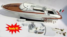 "Rivarama Handcrafted Model Speedboat 36"" Convert to RC - $341.55"