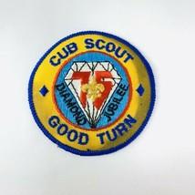 Vtg BSA Boy Scout Patch Mid America Council Diamond Jubilee Cub Scout Good Turn - $19.00