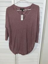 Express Women's Blush Pink Sweater Top Size Petite Small - $24.74