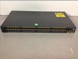 Cisco Systems Catalyst 2960 Series WS-C2960-48TT-L VO3 48 Port Ethernet Switch - $75.00