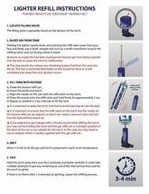 Black Dragon Head Jumbo Torch REFILLABLE Butane Lighter - One Lighter image 4