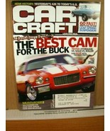 Car Craft Magazine October 2007 The Best CAM for the Buck - $8.99