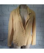 Pendleton Petite Yellow Sweater Jacket Size S Small - $23.75