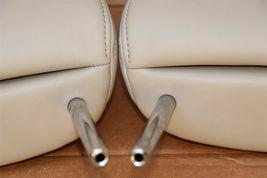 12-14 Prius-V Front Seat Headrest Head Rest Set Softex Faux-leather -BISQUE image 6