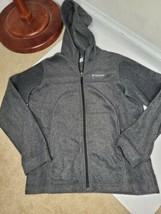 Columbia zip front hoodie jacket boy youth Teen Sz 14 - $14.85