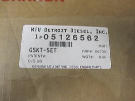 Genuine MTU Detroit DIESEL 5126562 GASKET SET 5126562 OIL PAN TO BLOCK image 2