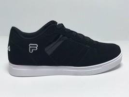 Men's Fila Davenport 4 Black | White Fashion Sneakers  - $69.00