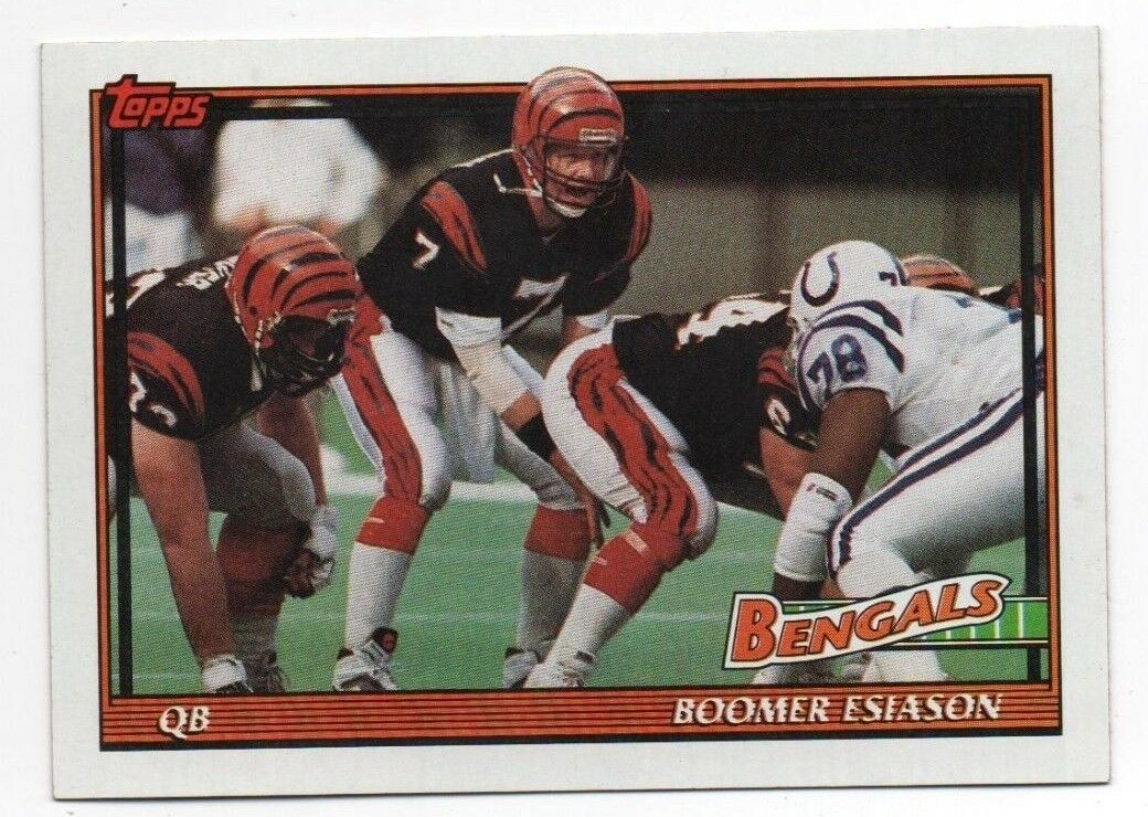 Primary image for 1991 Topps #248 Boomer Esiason - Bengals NM-MT