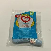 Rare 1998 TY BEANIE BABIES blue elephant PEANUT Mcdonals happy meal # 12... - $98.99