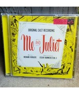 Me And Juliet Cd Original Broadway Cast Richard Rodgers RCA Victor Sony - $29.69