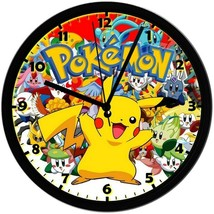 Pokémon! Exclusive 8in. Unique Homemade Wall Clock, Battery Included, SH... - $23.97