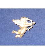 Gold Brush Cupid Tac Pin - $6.99