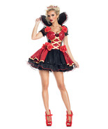 Sexy Party King Heartthrob Queen Sequin Dress Deluxe Wonderland Costume ... - $82.99+