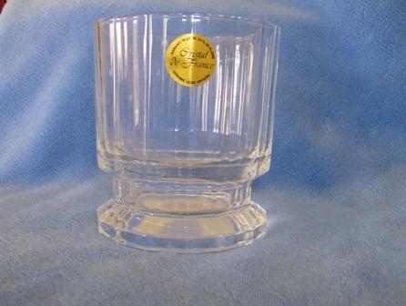 Lead Crystal Tumbler Cristal de France NEW