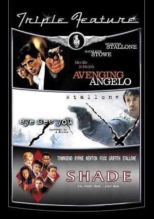 SYLVESTER STALLONE: Avenging Angelo- Eye See Yo- Shade- NEW DVD