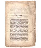 Slavery by James Smith (Pre-Civil War Pamphlet, circa 1830s) - $40.00