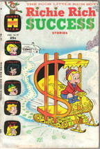 Richie Rich Success Stories Comic Book #37 Harvey Comics 1971 FINE+ - $12.59
