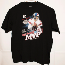 Eli Manning 10 Super Bowl XLII GiantsT-shirt Men's Size XLarge MVP - $24.75