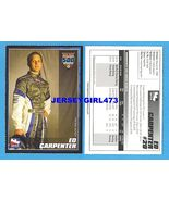 ED CARPENTER 2007 Indy 500 Racing Card - $6.00