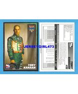 TONY KANAAN 2007 Indy 500 Racing Card - $6.00